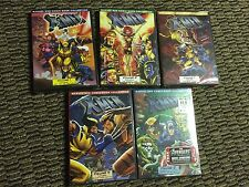 ORIGINAL 90'S MARVEL'S X-MEN ANIMATED SERIES SEASONS 1-5 COMPLETE 10 DVD SET