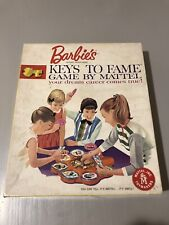 Complete*Barbies Keys To Fame Game Your Dream Career Comes True by Mattel 1963