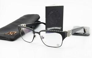 Chrome Hearts Glasses Titanium Tig Ol' Bitties 2 Matte Black 925 Silver Sterling