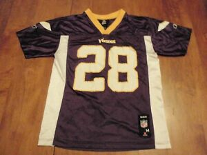 Adrian Peterson Minnesota Vikings Reebok NFL Jersey Youth Medium (10-12) #28