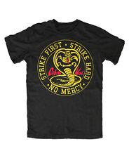 Cobra Kai m1 t-shirt karate Fun culto MMA Miyagi k1 boxeo Kid kung fu kick