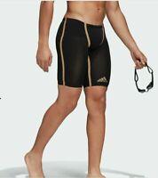 "Men's Adidas Adizero Freestyle Jammer Tech Suit Swimsuit Comfort EK1328 26"" RARE"