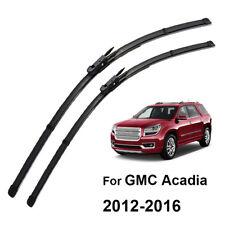 "Xukey Front Window Wiper Blades For GMC Acadia MK1 2012-2016 24"" 21"" Set 13 14"