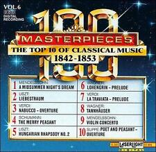 Audio CD Top Ten of Classical Music, Vol. 6, 1842-1853  - Free Shipping
