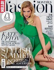 HELLO Fashion Magazine August 2015,Kate Upton,Bar Refaeli iNEW