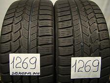 2 x Winterreifen Conti Winter Contact TS 790  215/45 R17, 91 H, M+S, XL,6,5mm