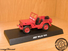 JEEP WILLYS REPARTO CELERE 1:43 ITALY POLICE 1945 MINT