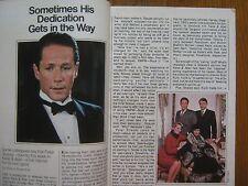 1985 TV  Guide (PETER STRAUSS/ANN  JILLIAN/DUMBO/STEPHANIE  MILLS/KATE  COLLINS)