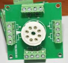eu 8 Pin Tube sockets Experiment boards x4 for tube project diy prototype test b