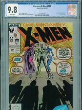 1989 MARVEL UNCANNY X-MEN #244 1ST APPEARANCE JUBILEE CGC 9.8 WHITE BOX9