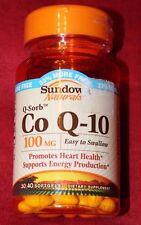 Sundown Naturals  Q-Sorb Co Q-10 100 mg, 40 Softgels, Product#45267