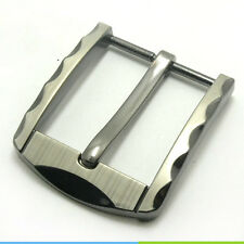 1Pc Brass Pin Buckle for Mens Unisex Leather Belt Spare Replacement Snap on 40mm