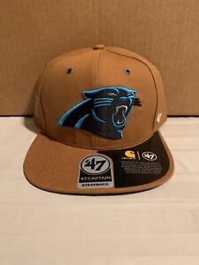 Carolina Panthers NFL '47 Carhartt Captain Hat Cap Adjustable Strap Back New