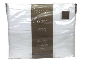 Wamsutta Dreamzone Supima Cotton 500 TC Percale Cool & Crisp King White
