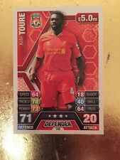 Match Attax Season 13/14 Liverpool #148 Kolo Toure