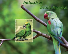 Guyana - 2014 - Animals Of South America - Souvenir Sheet - MNH