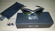 Oakley Metal Juliet Sunglasses Plasma with Emerald Lenses and Coin