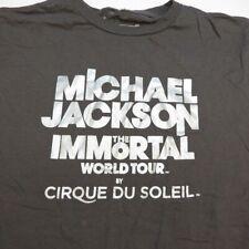 Michael Jackson The Immortal World Tour By Cirque Du Soleil Concert T Shirt Sz S