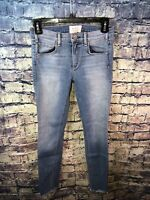 McGuire Size 25 Cropped Newton Raw Hem Skinny Jeans🔥Free shipping✔️💯RARE