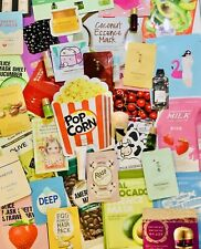 30 Piece Korean Beauty Sample Lot Trial Size SkinCare Package Sheet Mask