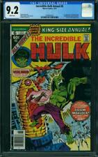 Incredible Hulk King-Size Annual 6 CGC 9.2- Dr Strange FIRST Appearance of HER!