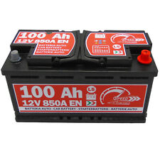 BATTERIA AUTO SPEED L5 100 Ah 850A EN = FIAMM 100Ah DX + MERCEDES PRONTO ALL'USO