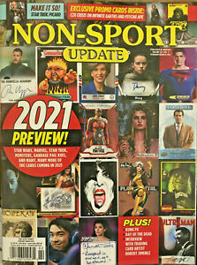 BECKETT Non-Sport Update FEB/MAR 2021 2021 PREVIEW+ Promo card Ships in Box