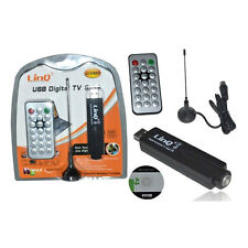 RICEVITORE DIGITALE TERRESTRE USB DVBT TV TURNER DVB-T PER PC & NOTEBOOK