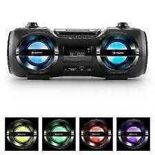 Boombox Bluetooth Stereo System CD Playermp3 USB SD Radio FM LED HIFI Sound