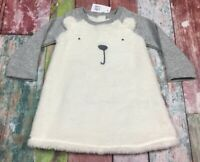 Baby Gap Girls 18-24 Month Soft Bear Dress With Bloomers. Nwt