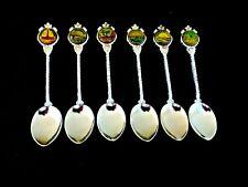 Australia Brisbane Souvenir collectible spoons case set 6 rare antique estate