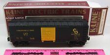 K-Line 9715 Chesapeake & Ohio boxcar in a k647702 box