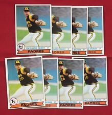 Lot Of 8 1979 Topps Baseball Gaylord Perry Card # 321 SP1
