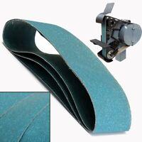 3Pz 100x915mm Nastri Abrasivi Cintura in Zirconio 120# PER Macinazione Metal
