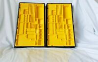 RARE Lot of 2 VTG Lego Technic Educational & Dacta 1031 Case and Tray ONLY