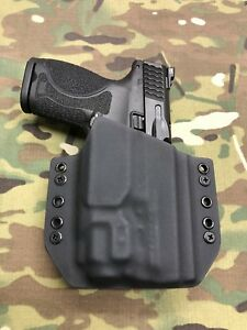 Black Kydex Holster for M&P 2.0c Compact Streamlight TLR-8