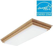 Elegant Dentil Light Fluorescent Ceiling Fixture Durable Kitchen Office Lighting