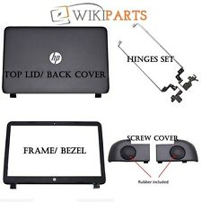 HP 15-R209NL SCREEN SUPPORT HINGES REAR BACK COVER SCREW COVER & BEZEL