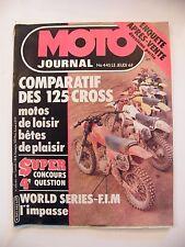 Moto Giornale Gennaio 1980 No.445 125 Cross