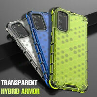 Hybrid Soft Bumper Honeycomb Case Cover For Samsung Galaxy Note20 Ultra S21 A21s