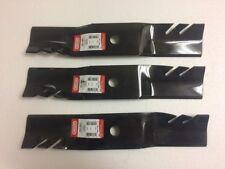 """3 Gator blade John Deere GT242,GT262,GT275,325,345 44"""" Piranha mower M121589"""