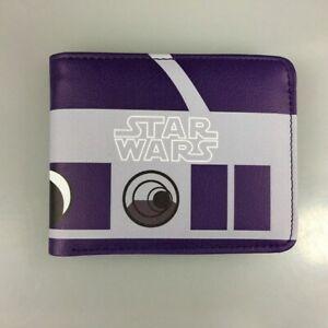 Multi Style Star Wars Vader Yoda Wallets New Free Ship Boys Mens