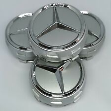 Mercedes 75mm AMG Felgen Rad Kappen Zier Blenden Naben Deckel Reifen Abdeckung