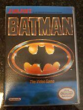 NES Batman PAL In Custom Case