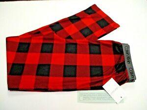 Calvin Klein Boys Lounge pajama Pants size 14/16 XL red/black plaid