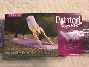 Lotus printed yoga may