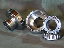 Panhead, Shovelhead Chrome Neck Cups & Timken Bearings