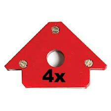 4x Schweißmagnet Montage Magnet Magnetwinkel Schweißwinkel 90x60x13mm 12,5KG/5KG