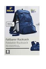 87c36748fda0f TCM Tchibo faltbarer Rucksack für unterwegs Reise Ausflug Urlaub ultraleicht