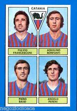 CALCIATORI PANINI 1971-72 - Figurina-Sticker -FRANCESCONI BONFANTI -CATANIA-Rec
